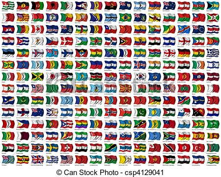 Simple Country Home Plans by Clipart Of World Flags Set 210 Flags Of The World