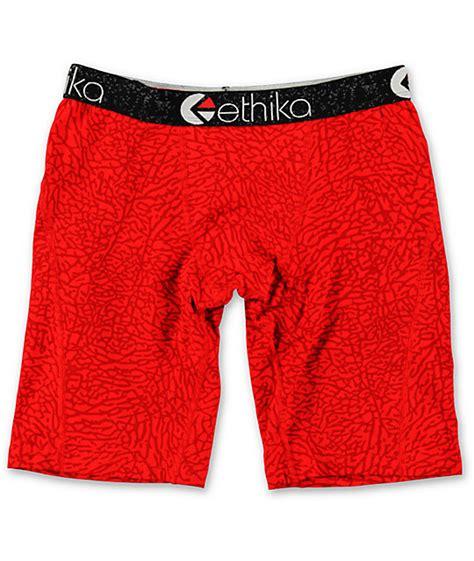 Ethika Staple Boxer Original Celana Boxer 18 ethika the staple black elephant print boxer briefs zumiez
