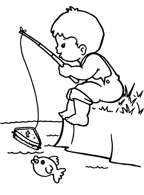 fishing coloring pages best coloring pages for