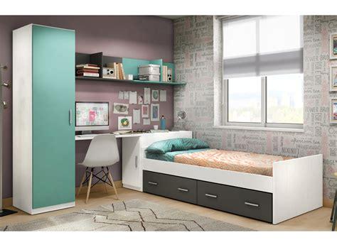 habitacion nido juvenil habitaci 243 n juvenil con cama y arc 243 n de mueble zapatero