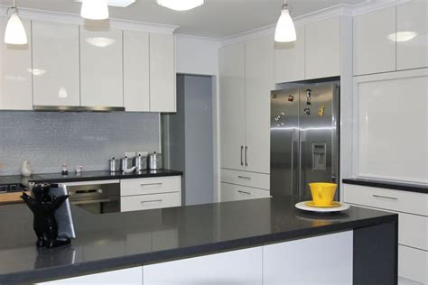 white kitchens grey bench tops gallery 2 kitchens squared