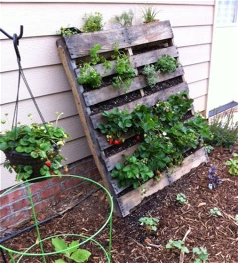 Vertical Garden Planters by Garden Styling With Pallet Vertical Planter Wooden