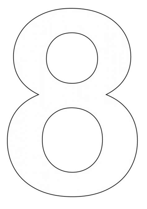 Coloring Page Number 8 by Best Photos Of Number Page 8 Coloring Number 8 Coloring