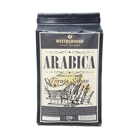 Kopi Arabika Toraja 250 Gram jual waterground roastery biji kopi arabica toraja sapan