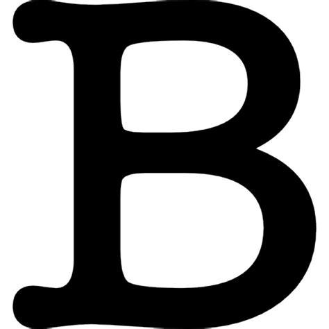 imagenes en blanco y negro de letras letra b s 237 mbolo descargar iconos gratis