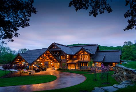 redux house in the mountains rustic combined with modern indiana log timber home pioneer log timber