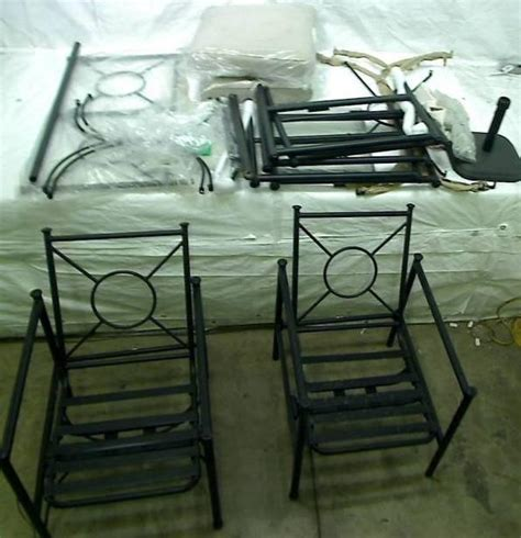 patio table parts lot of hton bay outdoor patio furniture chairs table parts