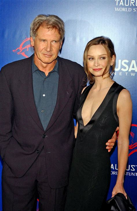 Calista Flockhart And Harrison Ford by Dvdbash Calista Flockhart Harrison Ford