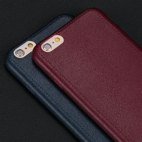 Iphone 6 6s 4 7 Lurxury Brush Texture Soft Stand Cover high quality thin leather pattern texture phone cases for iphone 6 6s 4 7 luxury soft
