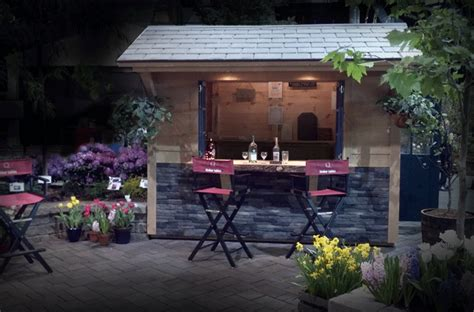 Shed Tiki Bar by Outdoor Tiki Bars Uniquegardensheds Roch