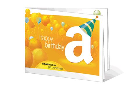 Amazon Birthday Gift Card - amazon gift card birthday greetings