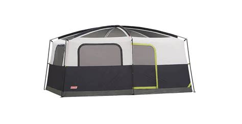 review of coleman prairie 9 person cabin tent