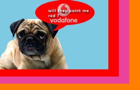vodafone pug pictures
