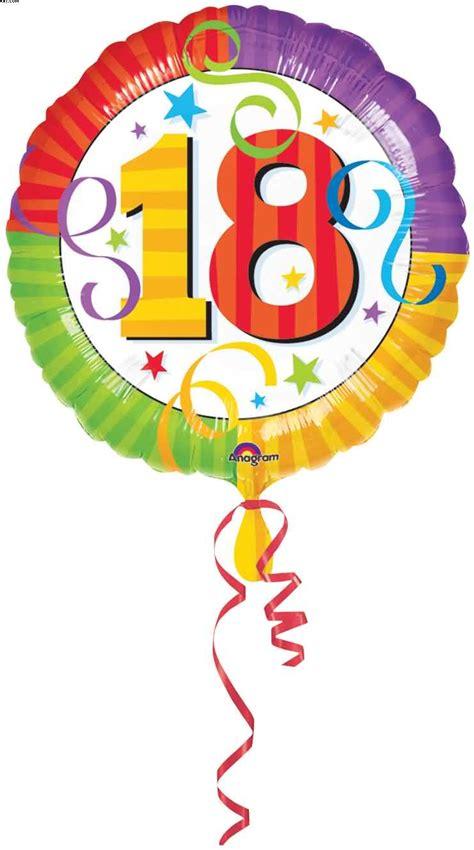 Age 18 Foil Balloon, (Age Foils). Izzys Party Shop Makes Parties Easy