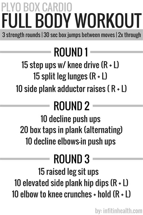 plyo box cardio workout workouts