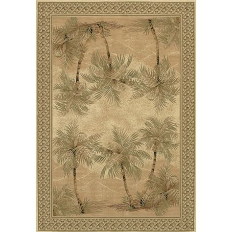 palm tree area rugs couristan everest palm tree desert sand floral area rug reviews wayfair