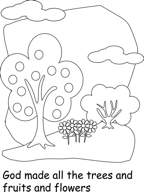 god created the earth coloring pages coloring home