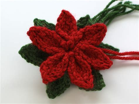 knitted poinsettia planetjune by june gilbank 187 knitted poinsettia pattern