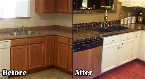 Countertop Paint Before And After by Faux Granite Countertop Paint Nelson Paint