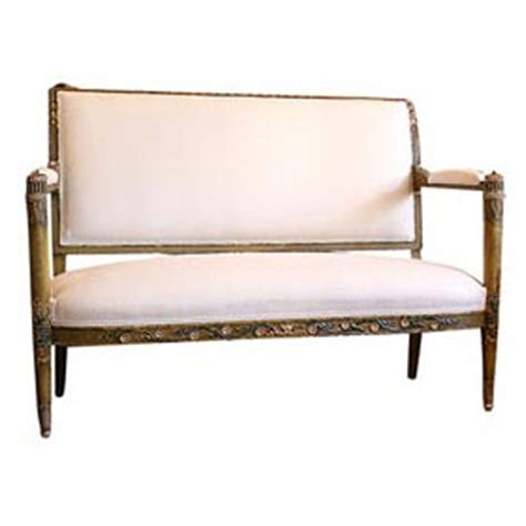 Where Does The Word Settee Come From What Is It Canape Sofa Settee Patina
