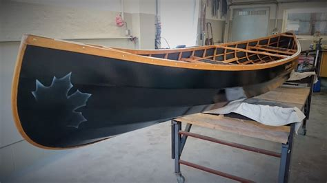 skin  frame canoe build kanubau  restore project