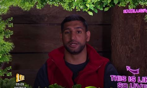 amir khan celebrity jungle the internet reacts to amir khan im a celebrity snake run
