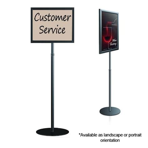 sign stands stand up sign pedestal sign stand floor sign stands