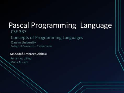 delphi language tutorial pdf pascal programming tutorial pdf gratis
