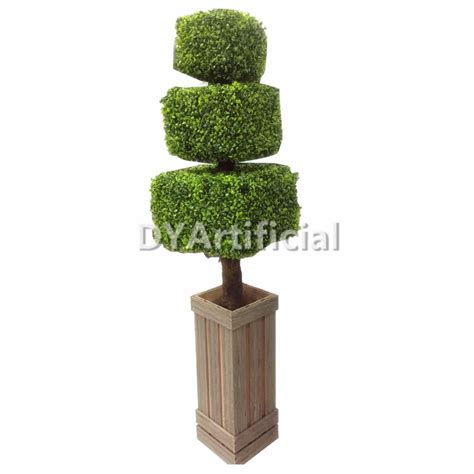 lighted outdoor topiary 120cm outdoor uv protection artificial square topiary tree