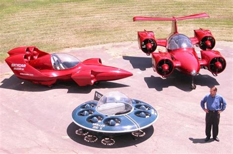 Mohler Flying Car by A L G I N Moller Skycar