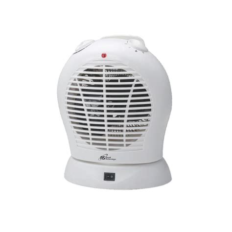 oscillating heater fan home royal sovereign oscillating fan heater hfn 20 the home