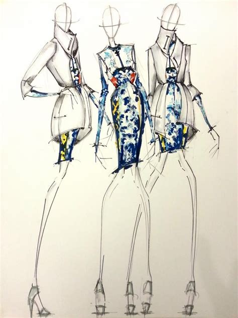 fashion illustration katrantzou fashion illustration this or that
