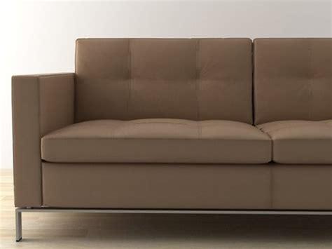 foster sofa foster 502 sofa 3d modell walter knoll