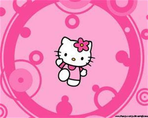 imagenes de hello kitty gratis para descargar plantilla powerpoint de hello kitty gratis plantillas