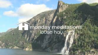 louise hay s morning meditation