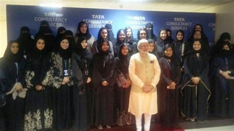 Executive Mba Tcs Employees by Saudi Arabia Visit Modi Visits Tcs All It Centre