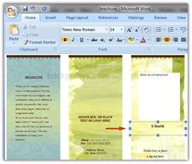 free brochure templates for microsoft word doc 528197 free phlet templates microsoft word free