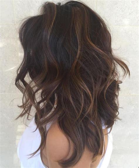 highlights on dark hair 50 best 25 dark hair ideas on pinterest long dark hair