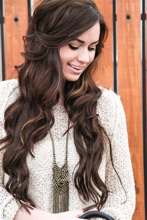bellami extensions hair styles colors pinterest bellami mochachino vs dark brown hairstylegalleries com