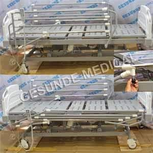Tempat Tidur Electric bed pasien elektrik acare 3 crank ranjang pasien