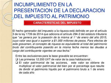 declaracion de renta 2015 ejemplo formato para la presentacion de la declaracion de renta