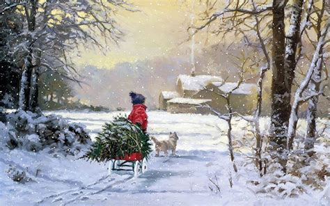 images of christmas paintings christmas paintings