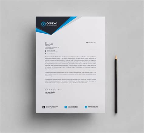 letterhead design templates template catalog