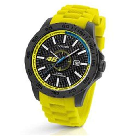 Montre Valentino ROSSI Jaune de la Collection Officielle VR46