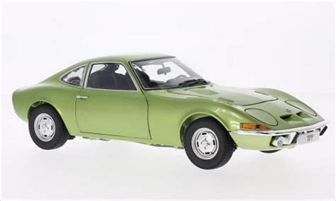 opel green opel gt metallic green 1969 minichs diecast model car 1