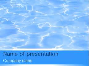 template powerpoint free blue water powerpoint template for