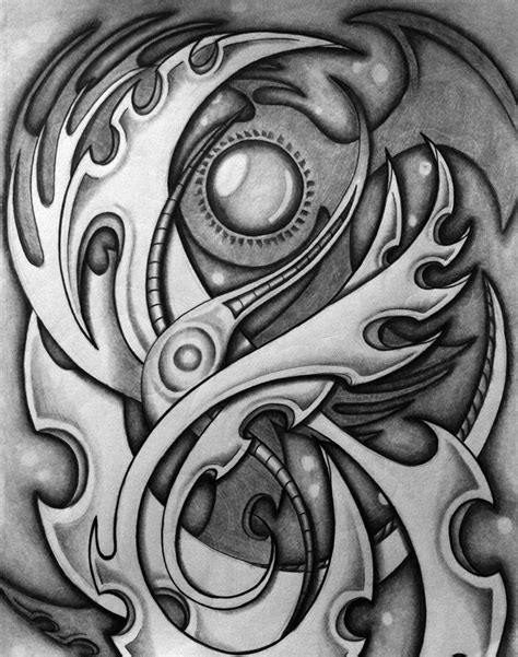 background tattoo ideas biomechanical background design tattooshunt