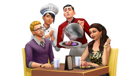 the sims 4 dine out pack lets players own restaurants