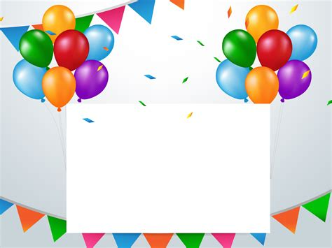 powerpoint template birthday birthday background ppt 380