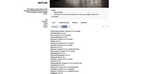 themes themaxdavis tumblr theme neptune